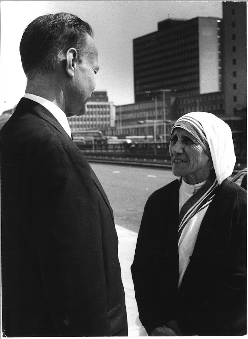 John Templeton and Mother Teresa