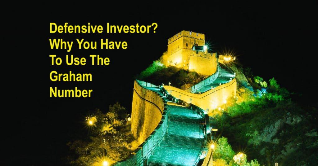 Defensive Investor Graham Number