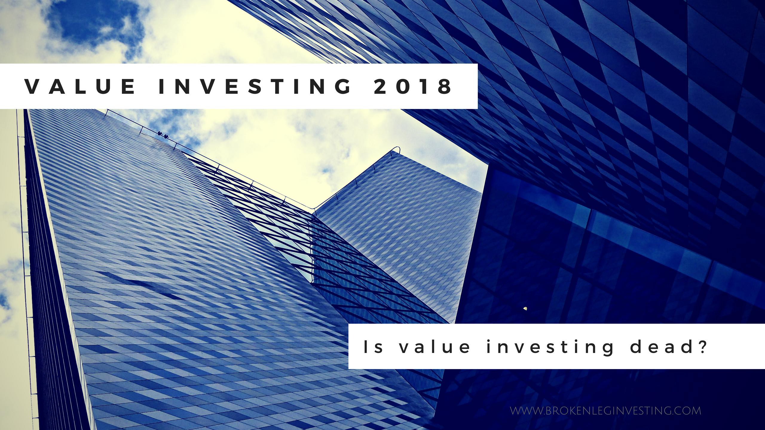 value investing 2018