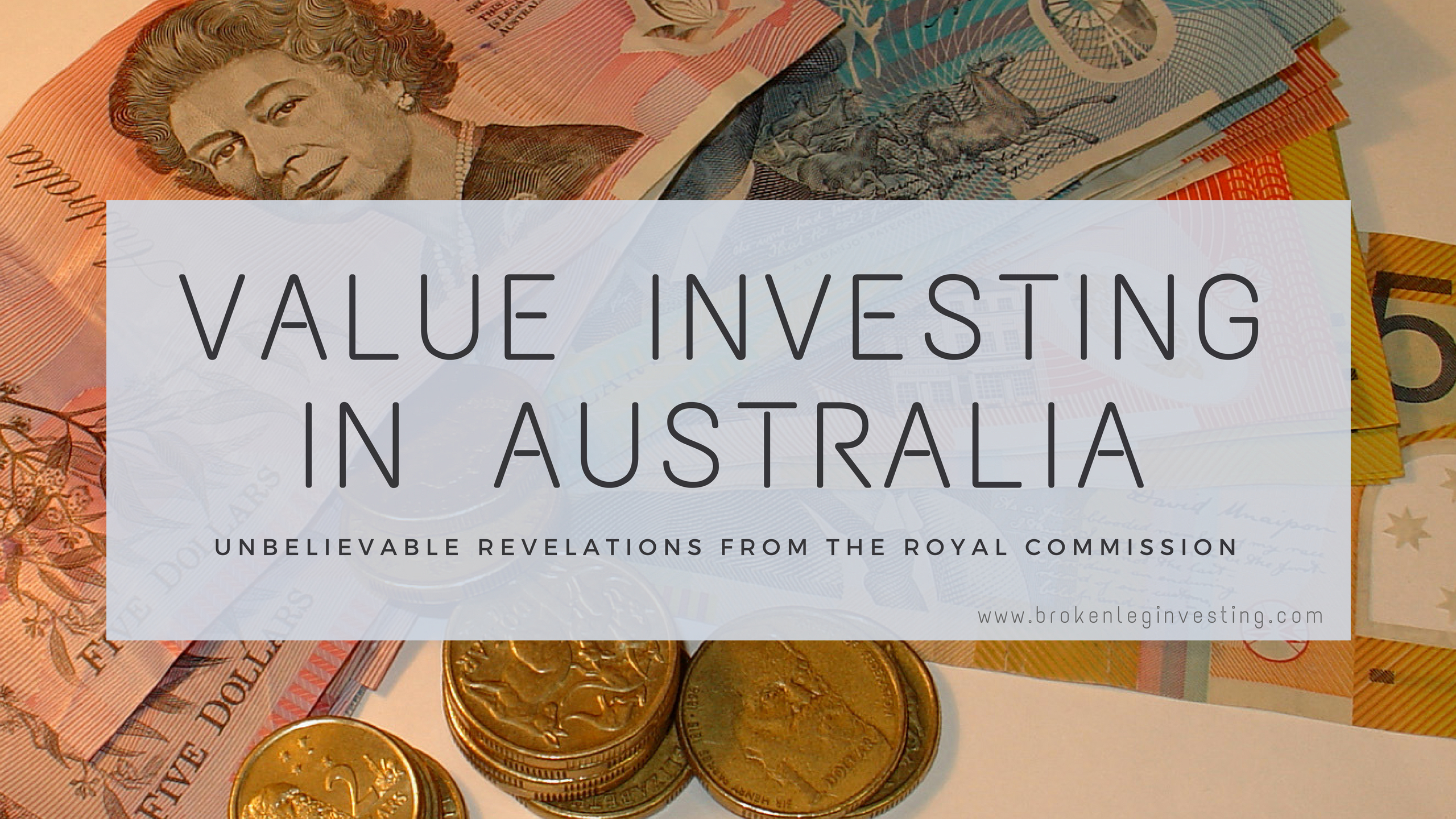VALUE INVESTING IN AUSTRALIA