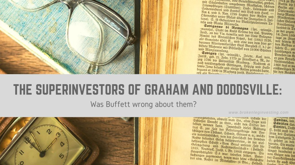 The Superinvestors of Graham and Doddsville