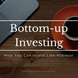 bottom-up investing