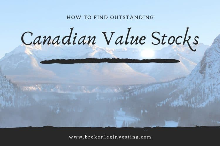 How To Find Outstanding Canadian Value Stocks