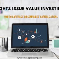 Rights issue value investing